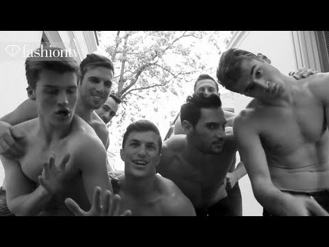 Male Models Lip Dup! Greece Is Alive By Yannis Kazandis | Fashiontv video