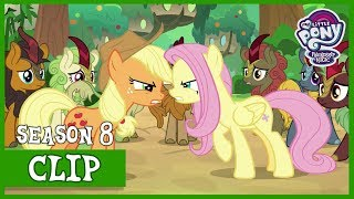 Applejack and Fluttershy Argue (Sounds of Silence) | MLP: FiM [HD]