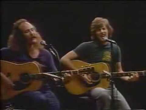 Teach the children well ( with lyrics) - Crosby Stills