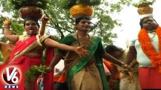Bonalu Festival Celebrations At Mancherial Pochamma Temple