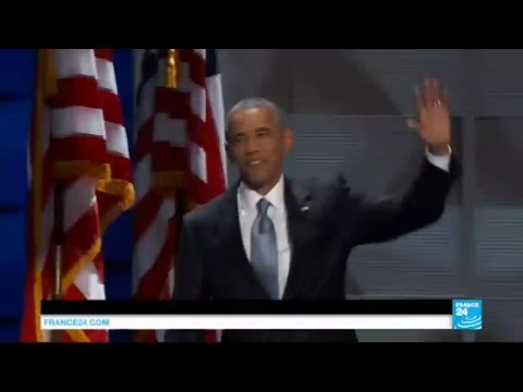 """Barack Obama à la Convention Démocrate : """"il faut voter pour Hillary Clinton !"""""""