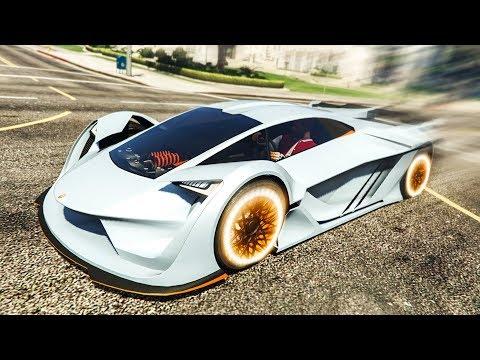 NEW FASTEST SUPER CAR IN GTA 5? - (GTA 5 DLC Stunts & Fails)