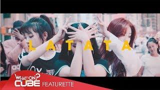(여자)아이들((G)I-DLE) - FLASHMOB in New York : '#LATATA'