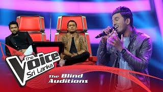 Chenuka Medawela -  Man Adarei Show phase   The Voice Sri Lanka