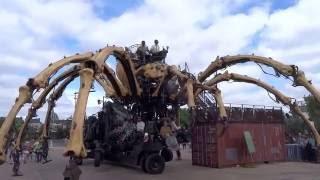 Les machines de l'Ile @ Nantes : Le réveil de Kumo