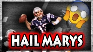 Football Hail Mary Passes (NFL, NCAA, CFL)