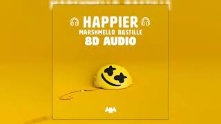 Baixar Marshmello ft. Bastille - Happier | 8D Audio 🎧 || Dawn of Music ||