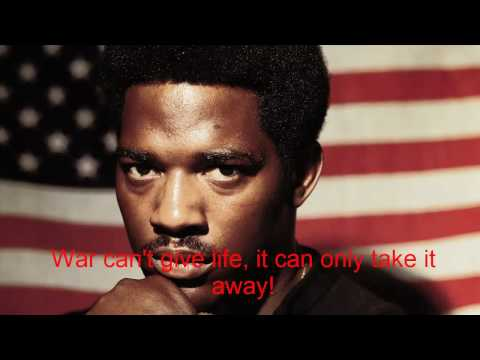 Edwin Starr - War What Is It Good For