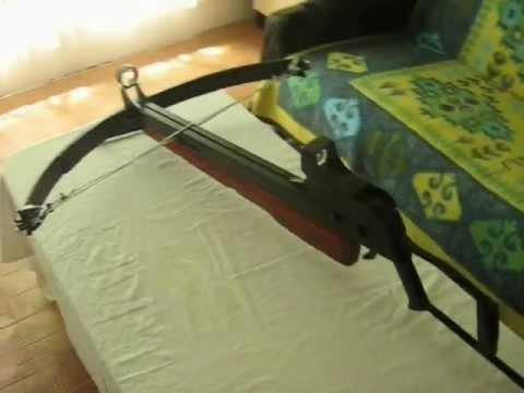Homemade Compound Crossbow Terminator part 1