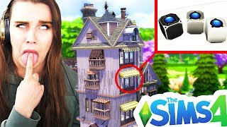 LEAST USED ITEMS BUILD CHALLENGE! The Sims 4