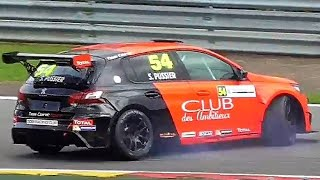 SPIN + ACTION! Peugeot 308 Racing Cup at 24H of Spa-Francorchamps 2017