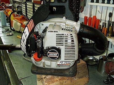 Echo PB260L Leaf Blower Compression Test