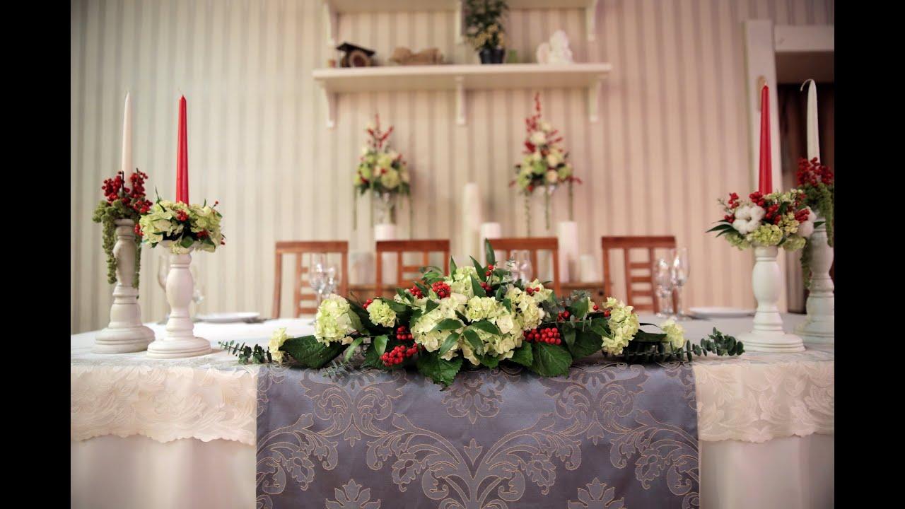 День 3: Украшение стола молодоженов. Курс свадебной флористики и...