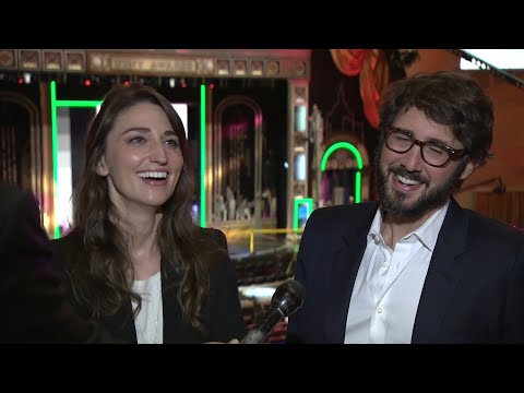 Friends Groban, Bareilles rely on each other for Tony gig