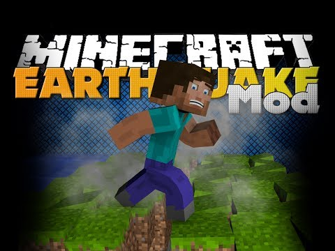 Minecraft Mod - Earthquake Mod - Natural Disasters