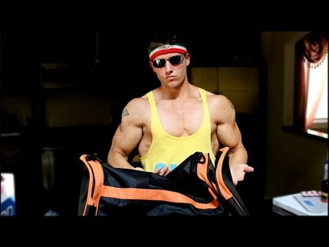 What's In My Gym Bag? Bro Edition