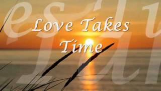 Love takes time - Mariah Carey