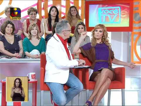 Você na TV: «Hoje trago umas cuecas da Madonna»