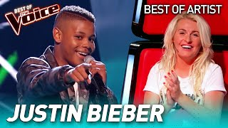 Download lagu The best JUSTIN BIEBER covers in The Voice