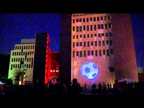 3D Projection Mapping at E-Werk Building Berlin