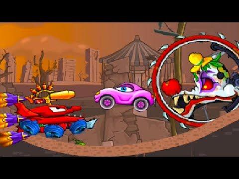 Car Eats Car 3 Машина ест машину / Хищные машины #44 детский летсплей про машинки как HILL CLIMB #МК