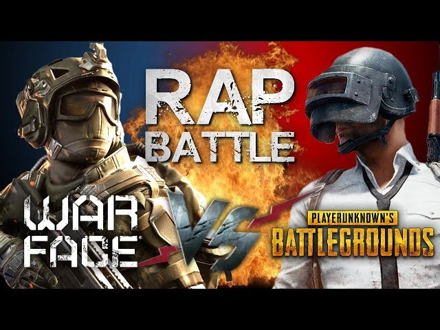 Рэп Баттл - Warface vs. PlayerUnknown's Battlegrounds (PUBG)