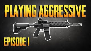 PLAYERUNKNOWNS BATTLEGROUNDS HOW TO PLAY AGGRESSIVE EPISODE 1! HOW TO WIN! PUBG LIVE!
