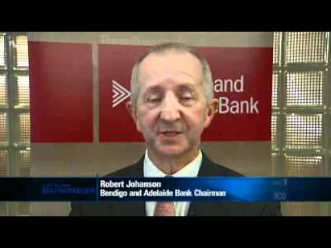 Bendigo's Johanson talks to Lateline Business