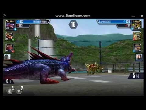 Jurassic World: The Game - Player Duel Battle 490