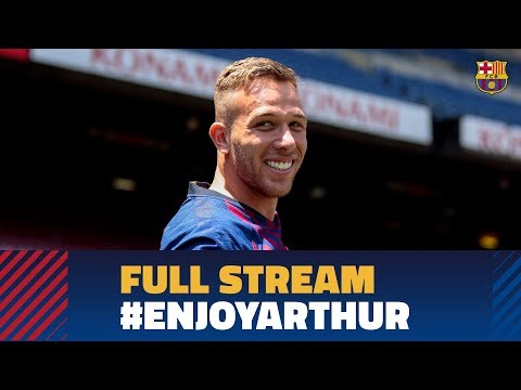 FULL STREAM | Arthur's unveiling as a Barça player