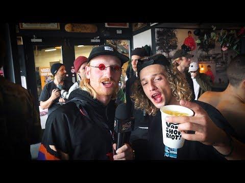 Vans Shop Riot European Finals 2019 (Rob Maatman, Simon Karlsson, Christan Estrada)