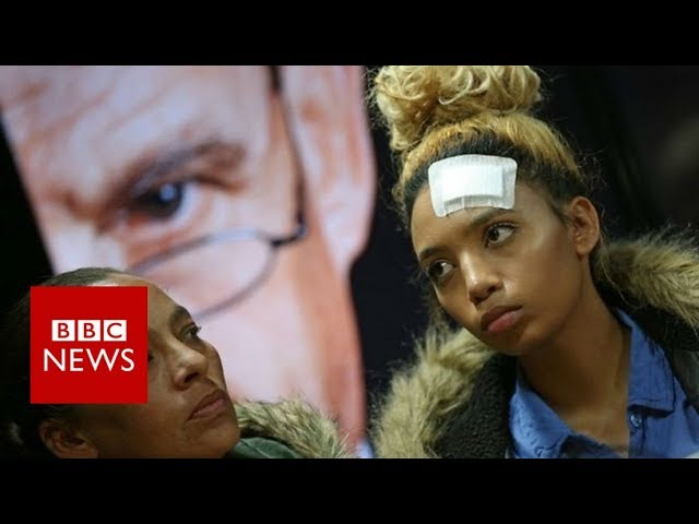 Gabriella Engels: Grace Mugabe 'beat the hell out of me'- BBC News
