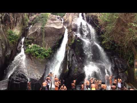 5 Falls Courtallam - குற்றாலம்  ஐந்தருவி