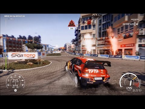 WRC 8 - Marmaris - Turkey Gameplay (PC HD) [1080p60FPS]