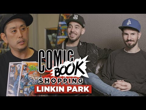 download lagu Linkin Park Goes Comic Book Shopping With Collider gratis