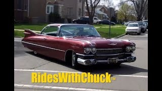 1959 Cadillac We Go For A Ride!  Air Bag Suspension! Yes!