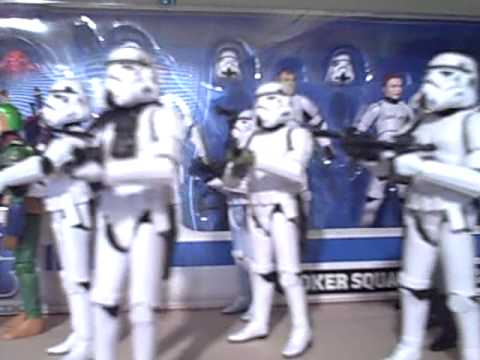 Clonetroopers vs Stormtroopers Figures