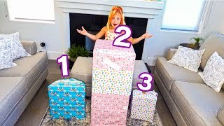 Don't Open The Wrong Mystery Birthday Present... - Challenge