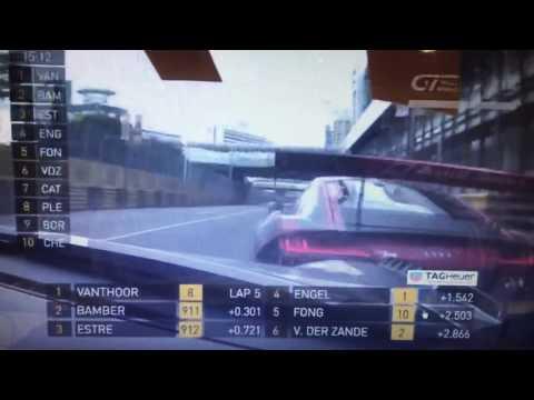 Horrific crash Macau GP GT World Cup 2016 Laurens Vanthoor
