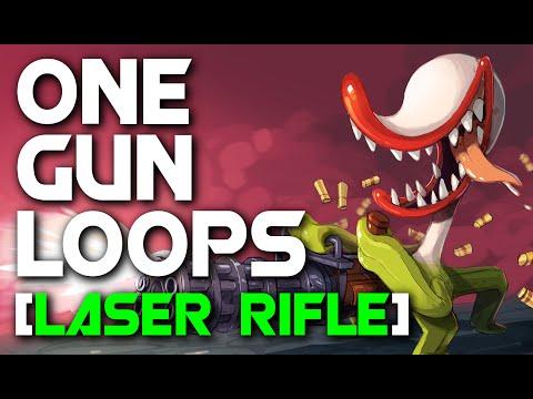 Nuclear Throne One Gun Loop [Laser Rifle]