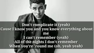 Jonas Brothers-Sucker(Lyrics)