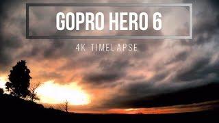 4K Time Lapse GoPro Hero 6