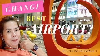 CHANGI, BEST AIRPORT IN THE WORLD???