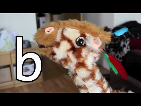 Geraldine the Giraffe learns /b/