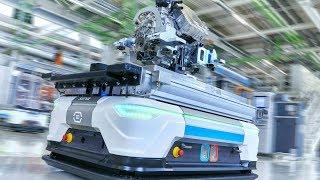 Audi Electric Motors Production