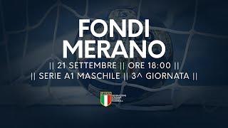 Serie A1M [3^]: Fondi - Merano 30-27