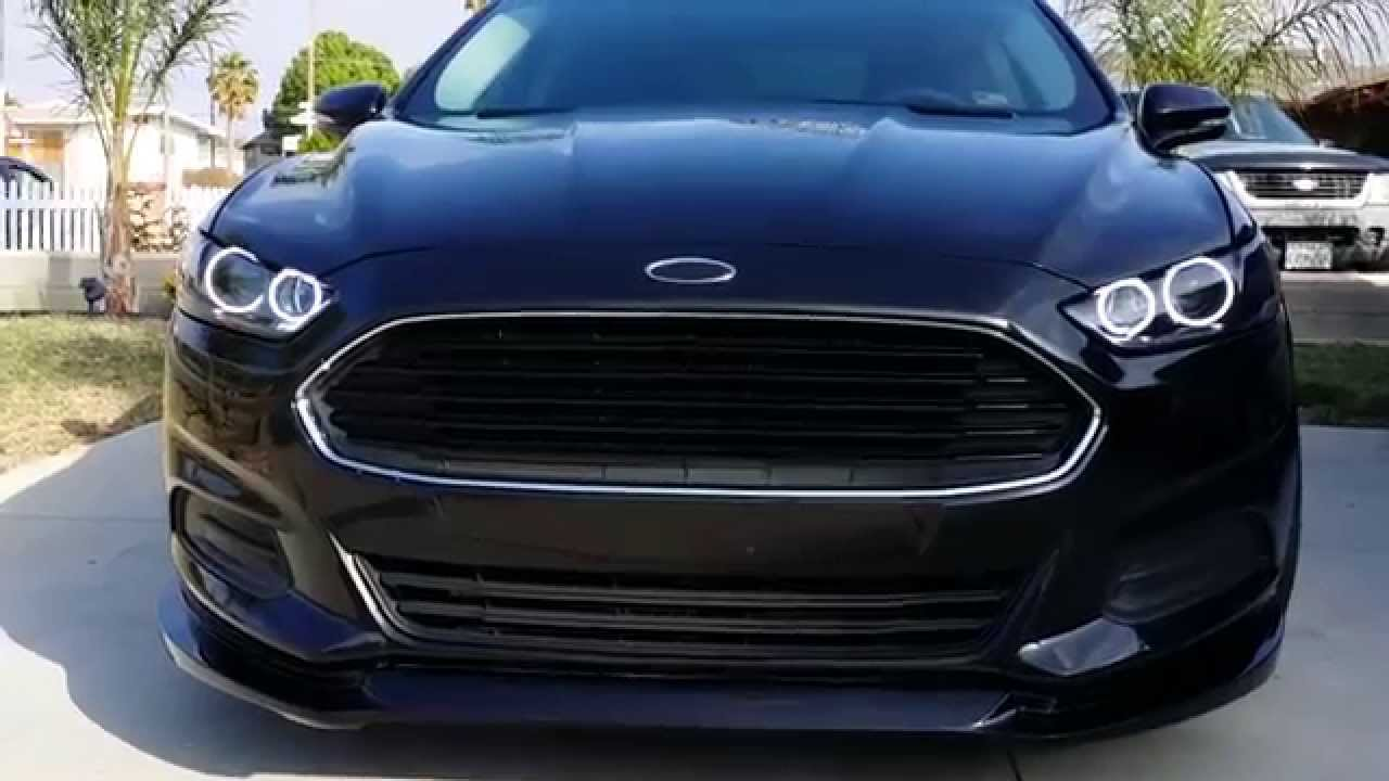 My Custom 2013 Ford Fusion Pt 2 Youtube