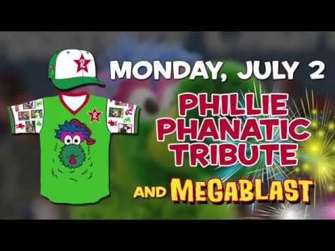 Jeff Singer Phillie Phanatic Tribute Game 7218