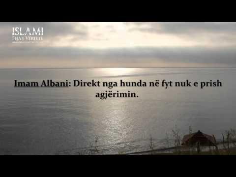 A e zhvleftëson agjërimin rrjedhja e hundëve -- Imam Albani