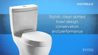 TOTO Dual-Max Flushing System